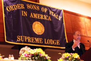 Order Sons of Italy, National Convention with Congressman Thomas Marino